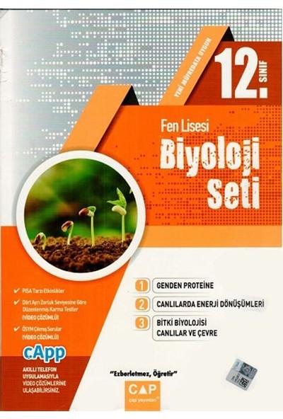 Çap Yayınları 12. Sınıf Fen Lisesi Biyoloji Seti