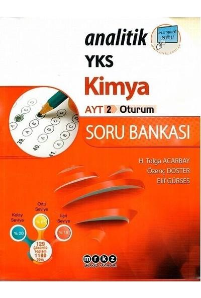 Merkez Yayınları Ayt Kimya Analitik Soru Bankası - Elif Gürses