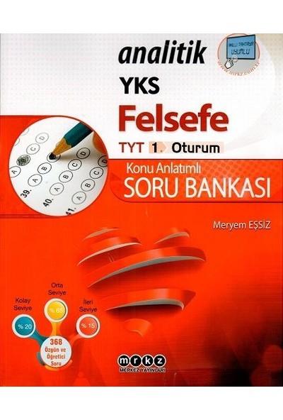 Merkez Yayınları Tyt Felsefe Analitik Soru Bankası - Meryem Eşsiz