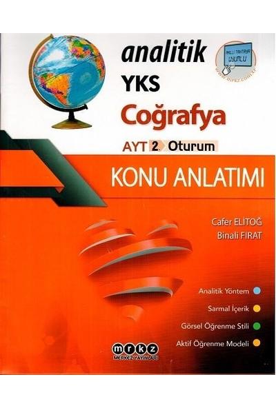 Merkez Yayınları Ayt Coğrafya Analitik Konu Anlatımı - Cafer Elitoğ
