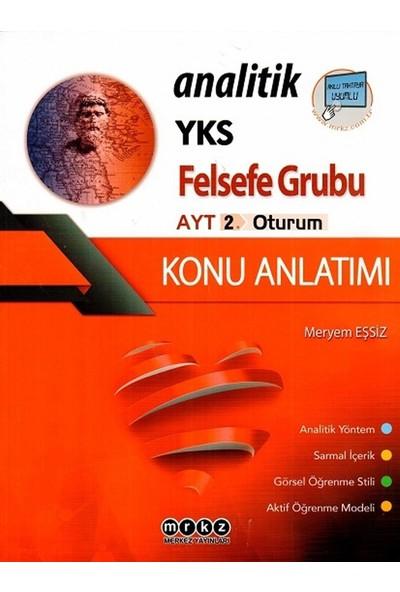 Merkez Yayınları Ayt Felsefe Grubu Analitik Konu Anlatımı - Meryem Eşsiz