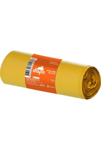 Dispo Optima Jumbo 500 gr. Sarı Çöp Poşeti 80x110 cm-30,5 mikron