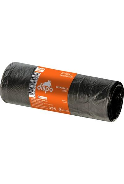 Dispo Optima Orta Siyah Çöp Poşeti 55x60 cm-6 mikron