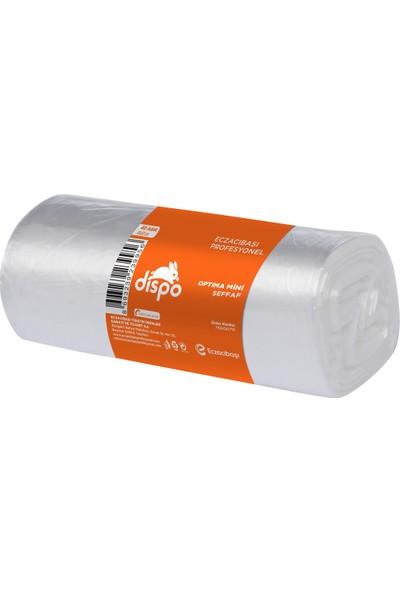 Dispo Optima Mini Şeffaf Çöp Poşeti 40x50 cm-5,5 mikron