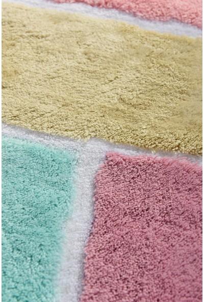 Chilai Home Colore Renkli 2 Li Set Banyo Halısı