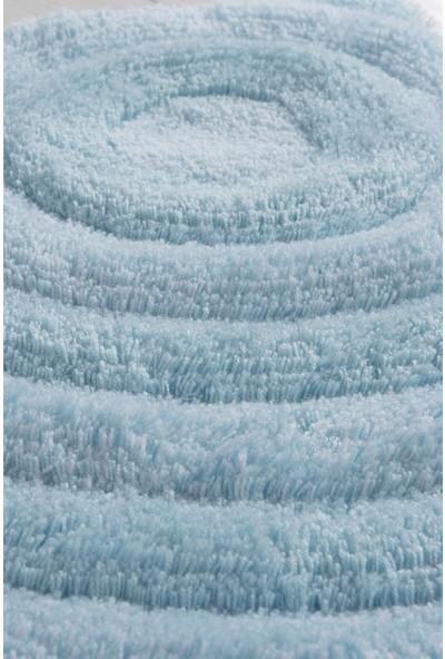 Chilai Home Wave Mint 3Lü Set Banyo Halısı