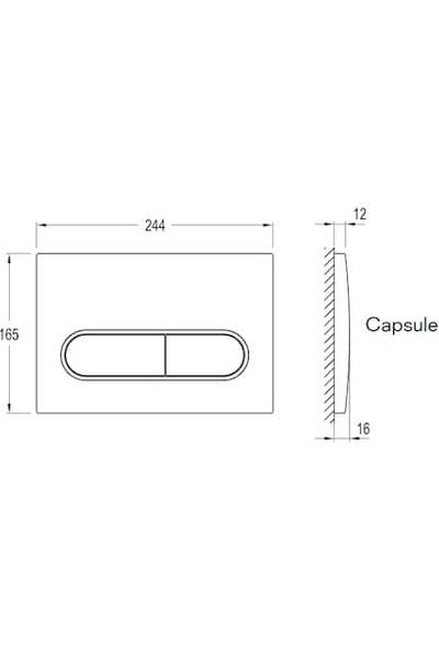 Kale   Capsule - Gomme Rezervuar Paneli (Integra)