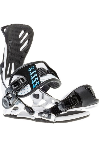 Gnu B Free White Snowboard Bağlama
