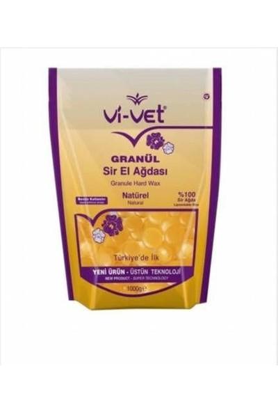 Vi-Vet Granul Sir El Ağdası Natural Soyulabilir İnci Ağda 1000 gr