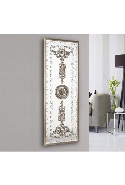 Tablo Plus Soros Mensis 6 Dekoratif Çerçeveli Ayna Altın