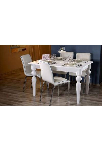 Era Era Home Yemek Masası - Beyaz