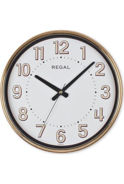 Ultima Regal Ultima Regal Rose Gold Metalize Yuvarlak Duvar Saati