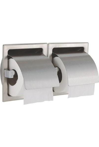 Çağdaş Ankastre Wc İkili Kağıtlık