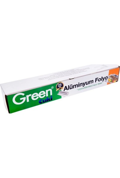 Green Alüminyum Folyo 45 Cm X 50 m