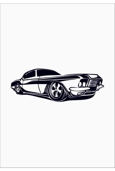 Başaran Sticker Model Araba 5 Araba Arma Sticker