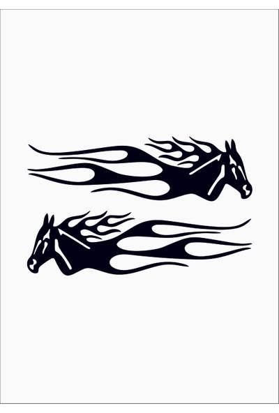 Başaran Sticker Horse Araba Arma Sticker