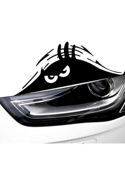Başaran Sticker Sert Bakan Göz Araba Arma Sticker