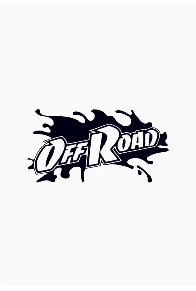 Başaran Sticker Off Road Araba Arma Sticker