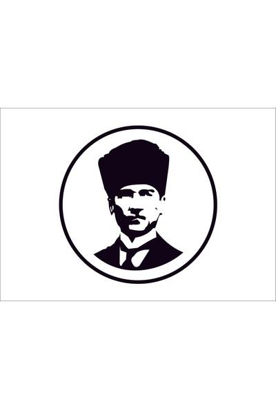 Başaran Sticker Mustafa Kemal Atatürk 3 Araba Arma Sticker
