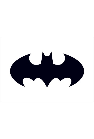Başaran Sticker Batman Logo Araba Arma Sticker