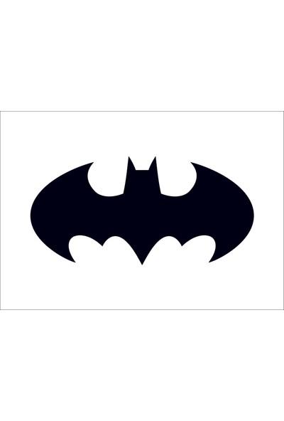 Başaran Sticker Batman Logo Araba Arma Sticker