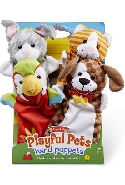 Melissa&Doug El Kukla Seti - Evcil Hayvanlar