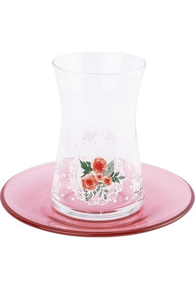 Tantitoni 12 Parça Butterfly Effect Çay Bardağı Takımı