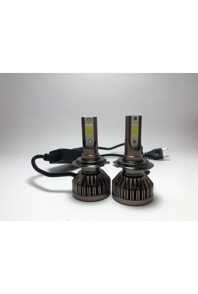 Led Garage Black Edition Nano H7 Led Xenon 8400 Lümen 6500K Beyaz Şimşek Etkili