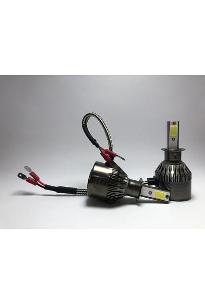 Led Garage Black Edition H3 Led Xenon 8400 Lümen 6500K Beyaz Şimşek Etkili