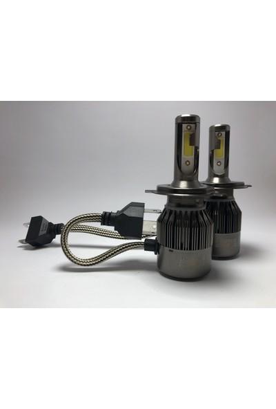 Led Garage Black Edition H4 Led Xenon 8400 Lümen 6500K Beyaz Şimşek Etkili