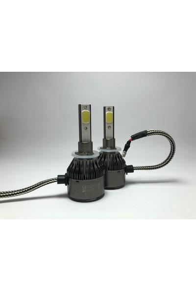 Led Garage Black Edition H27 (880-881) Led Xenon 8400 Lümen 6500K Beyaz Şimşek Etkili