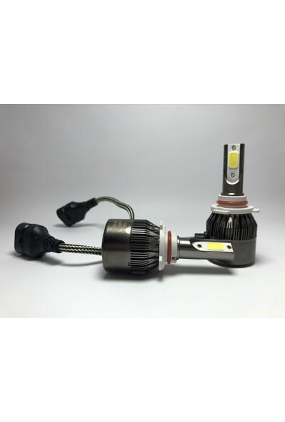 Led Garage Black Edition HB3 (9005) Led Xenon 8400 Lümen 6500K Beyaz Şimşek Etkili