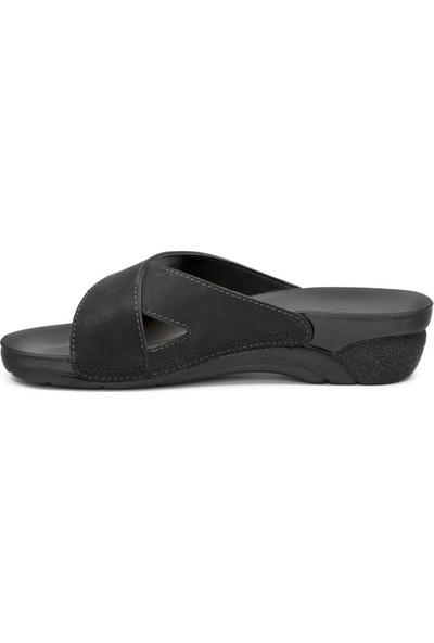 Ceyo 9Y Venedik 9 Siyah Terlik Sandalet