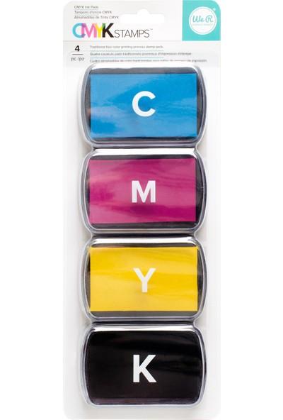 Wer Memory Keepers Cmyk Ink Pad Set Stampa