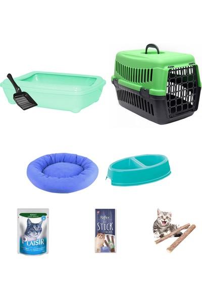 Petfony Açık Kedi Tuvaleti,Kedi Taşıma Çantası,Kedi Yatağı,Reflex Ödül