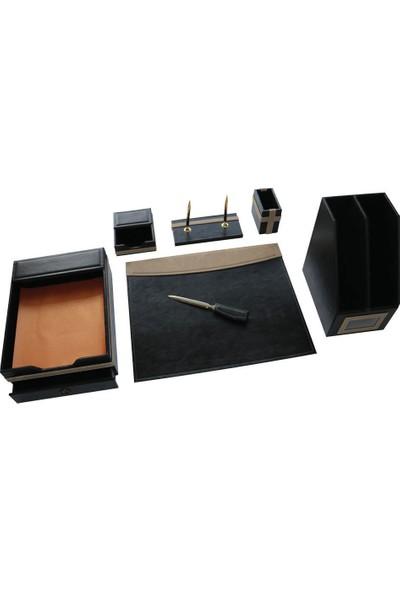 Maya Deri Sumen Takimi 7'Li+2 Kalem siyah 620S