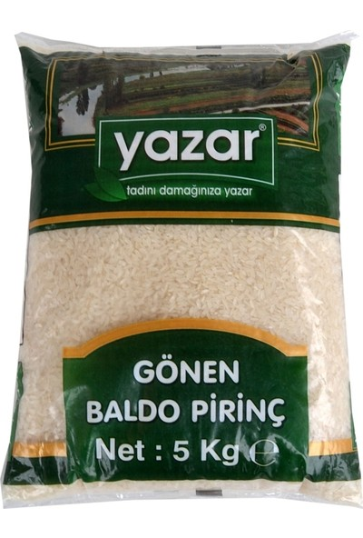 Yazar Baldo Pirinç Gönen 5kg-