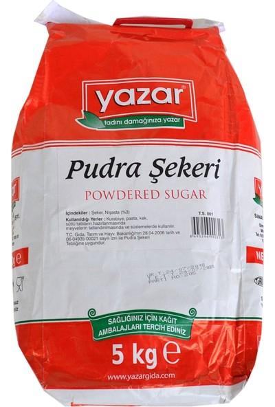 Yazar Pudra Şekeri Sade 5 kg