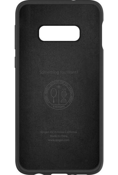 Spigen Samsung Galaxy S10e Kılıf Silikon Fit Black - 609CS25854