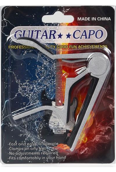 Santana Gitar Kapo (Krom)