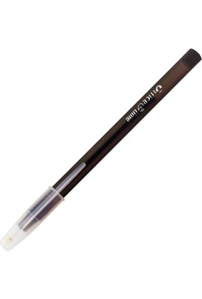 Office Time Tükenmez Kalem Siyah 50'li Kutu