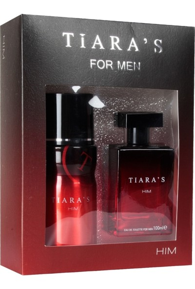 Tiaras For Him Edt 100 Ml + 150 Ml Deodorant