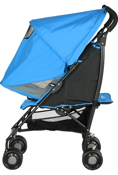 Prego 2043 Persa Baston Bebek Arabası Mavi