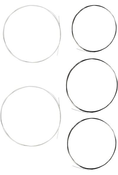 Sazende 0.20 mm Çelik + İpek Bamlı Uzun Sap Bağlama Teli