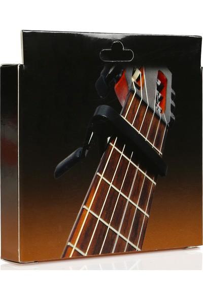 Nemesis FC-75 Gitar Saz Kapo (Siyah)