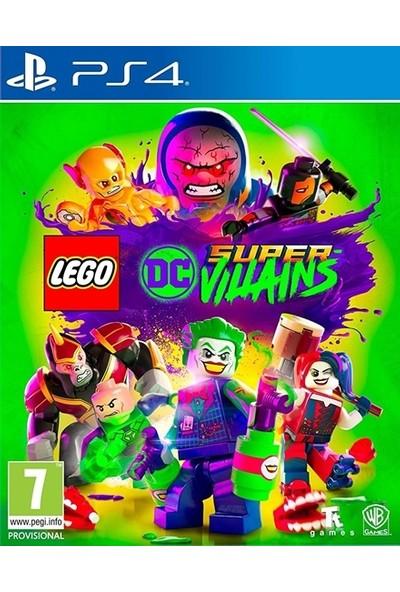 Lego Dc Super Vıllaıns PS4 Oyun