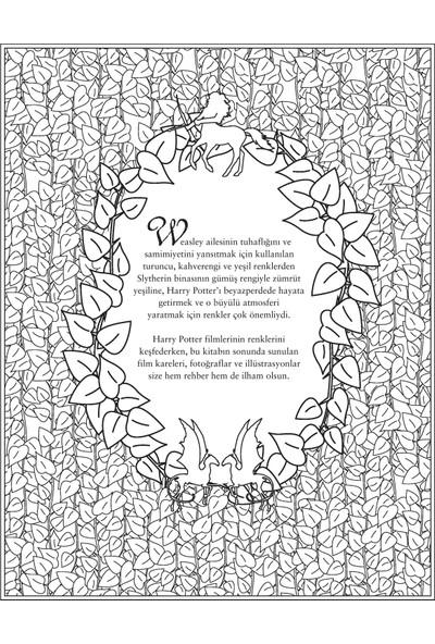 Harry Potter Boyama Kitabı - Hazel Bilgen