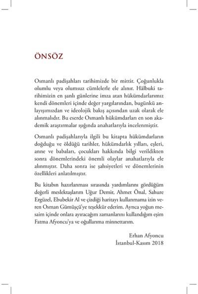 Osmanlı Padişahları - Erhan Afyoncu