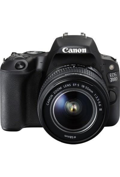 Canon EOS 200D + 18-135mm STM Dijital SLR Fotoğraf Makinası