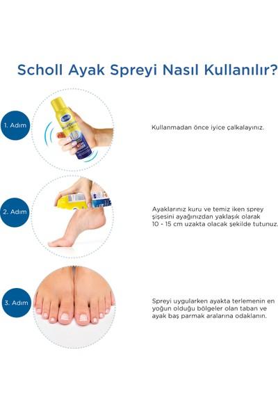 Scholl Koku Önleyici Ayak + Ayakkabı Spreyi 2'li Avantaj Paketi